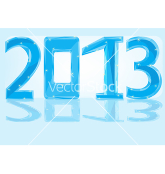 Free new year 2013 vector - Free vector #242333