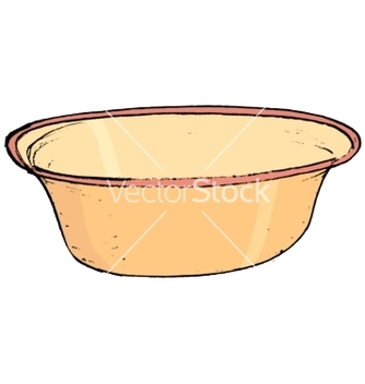 Free kitchen bowl vector - Free vector #242363