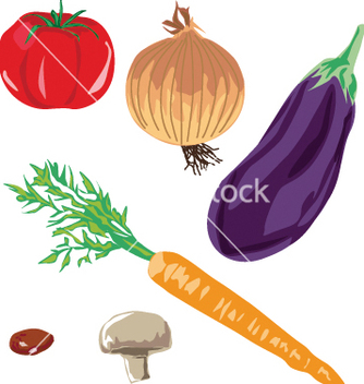 Free soup vegetables vector - Free vector #242443