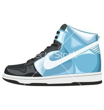 Free sport shoes vector - vector #242663 gratis