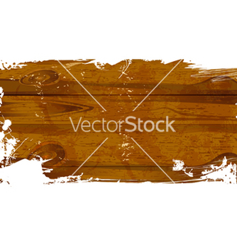 Free wood grunge vector - Free vector #242683
