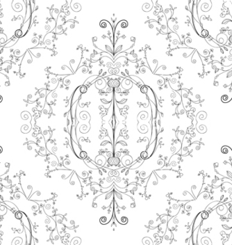 Free damask seamless pattern vector - Kostenloses vector #242813