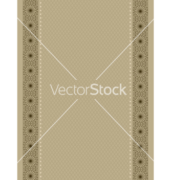 Free vintage background with frame vector - vector #242833 gratis