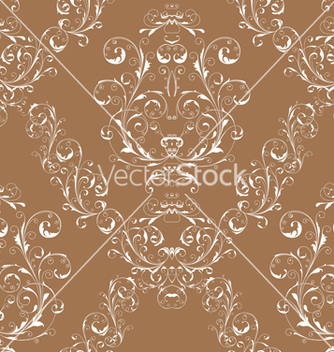 Free victorian seamless pattern vector - Kostenloses vector #242843