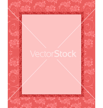 Free frame with floral vector - Kostenloses vector #242853