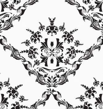 Free victorian seamless pattern vector - Kostenloses vector #242923