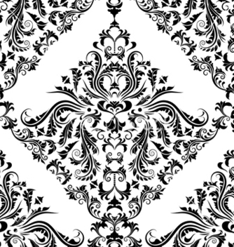 Free victorian seamless pattern vector - Kostenloses vector #242963