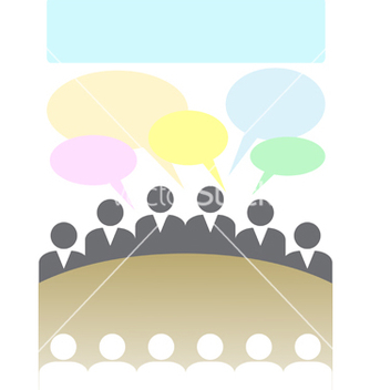 Free meeting2 vector - vector #243483 gratis
