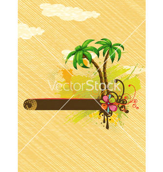 Free summer background vector - Free vector #243513