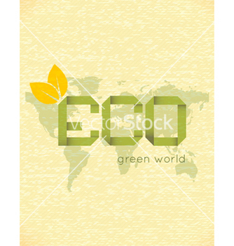 Free eco friendly design vector - Kostenloses vector #243533
