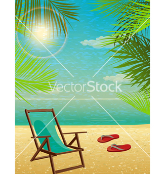 Free summer background vector - Free vector #243553