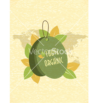 Free eco friendly shopping tag vector - Kostenloses vector #243573