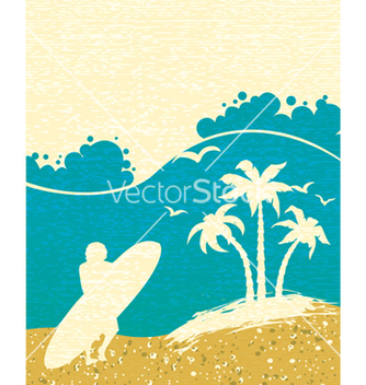 Free summer background vector - Free vector #243593
