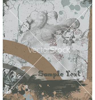 Free vintage background with grunge vector - Kostenloses vector #244003