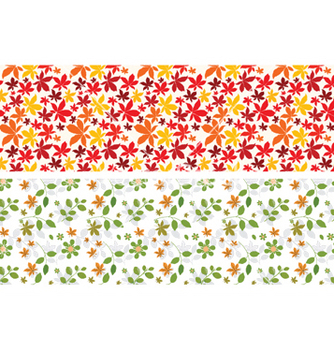 Free floral web banner vector - Free vector #244043