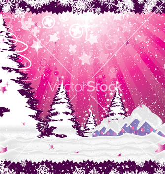 Free christmas greeting card vector - Kostenloses vector #244553