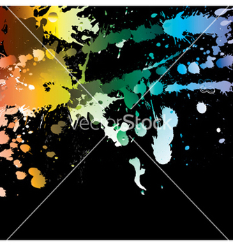 Free watercolor splash vector - Free vector #244783