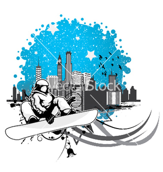 Free winter sports vector - vector gratuit #245883