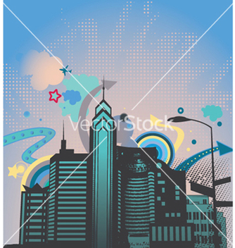Free urban abstract background vector - Kostenloses vector #246293
