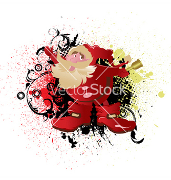 Free christmas greeting card vector - Free vector #246373