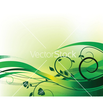 Free floral background with halftone vector - Kostenloses vector #246433