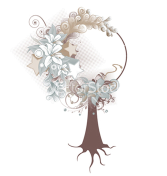 Free abstract tree vector - Free vector #246663
