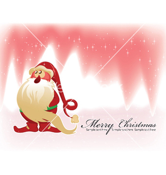 Free christmas greeting card vector - Kostenloses vector #246813