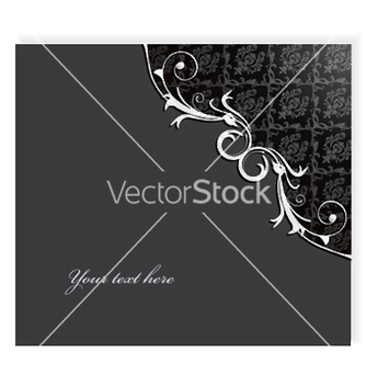 Free damask floral background vector - Kostenloses vector #246923