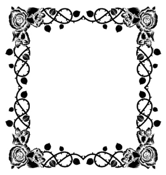 Free floral frame vector - Kostenloses vector #247113