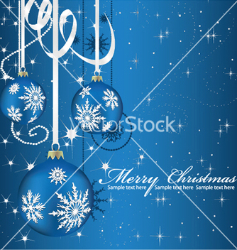 Free christmas greeting card vector - Kostenloses vector #247443