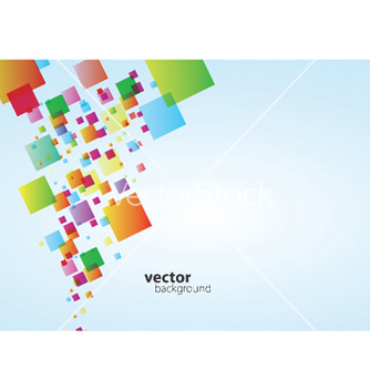 Free geometric square background vector - vector #247833 gratis