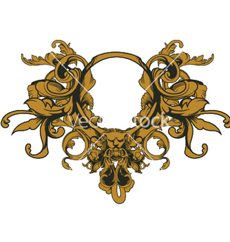 Free baroque floral ornament vector - бесплатный vector #247913