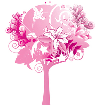 Free abstract tree vector - Free vector #248173