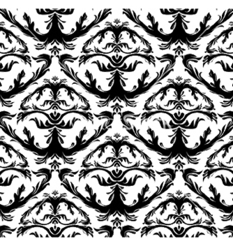 Free baroque seamless pattern vector - vector gratuit #248473