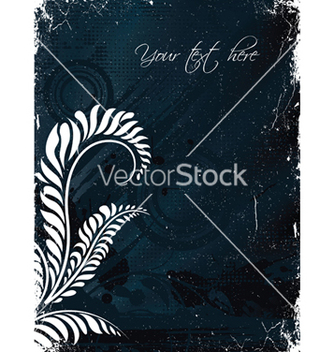Free grunge floral background vector - Kostenloses vector #248503