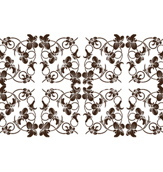 Free seamless floral pattern vector - Free vector #248683