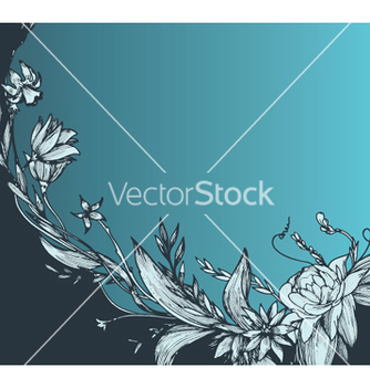 Free vintage floral background vector - Kostenloses vector #248883