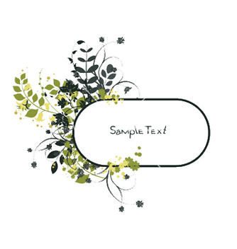 Free spring floral frame vector - Free vector #248943