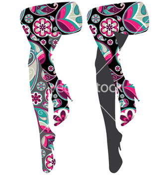 Free stylized woman legs vector - бесплатный vector #249143