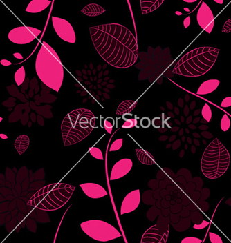 Free abstract seamless floral background vector - Kostenloses vector #249953