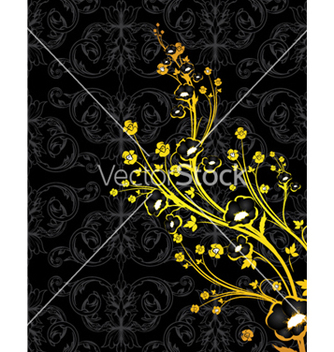 Free vintage floral background vector - Kostenloses vector #249973