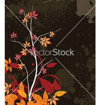 Free vintage floral background vector - бесплатный vector #249993