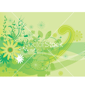 Free abstract floral background vector - Free vector #250243
