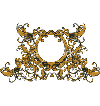 Free baroque floral ornament vector - бесплатный vector #250253