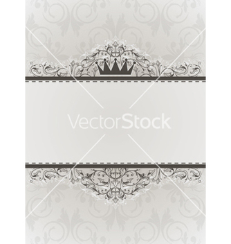 Free elegant vintage background vector - Free vector #250453