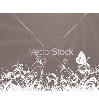 Free rays with floral vector - vector gratuit #250603