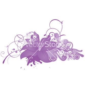 Free abstract floral vector - Free vector #250633