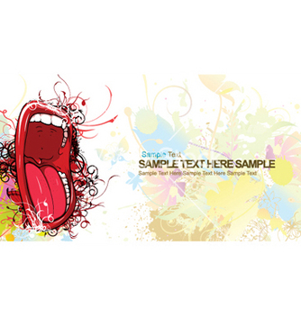 Free mouth vector - Kostenloses vector #250873