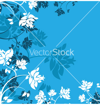 Free abstract floral background vector - Kostenloses vector #251203