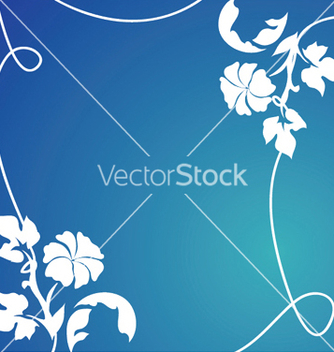 Free abstract floral background vector - Free vector #251813